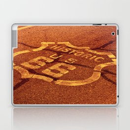 Historic route 66 in the Mojave desert. Laptop & iPad Skin