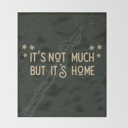 But Its Home Potter Snake Throw Blanket