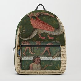 DRAGONS and UNICON - World's Wonders Backpack
