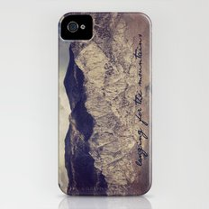 longing for the mountains Slim Case iPhone (4, 4s)