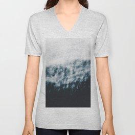 Abstract #fog Unisex V-Neck