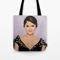 selena Tote Bags featuring Revival by The Art Of Dreams