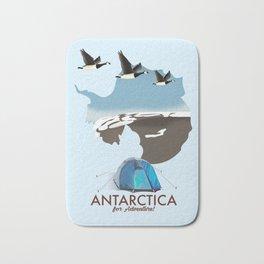 Antarctica - For Adventure! Bath Mat