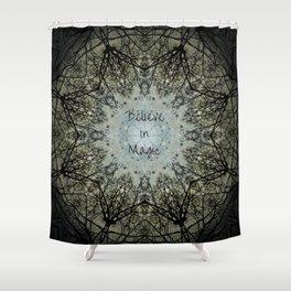 Believe in Magic Shower Curtain