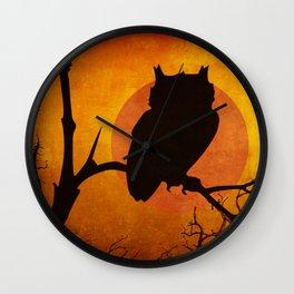 Halloween Is Coming Wall Clock
