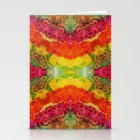 hindu Stationery Cards featuring Hindu Colors 2 by Diego Tirigall