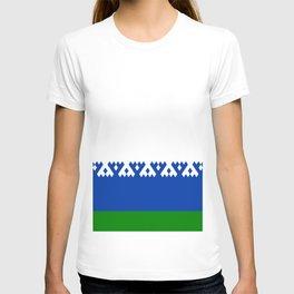 flag of nenets T-shirt