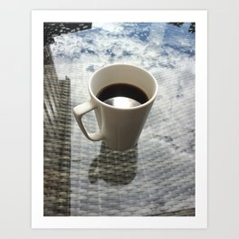 My Cup of Coffee Art Print