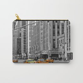 NYC Yellow Cabs Radio City Music Hall - USA Carry-All Pouch