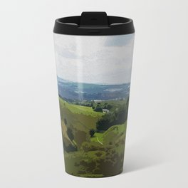Rochdale View from Iron Waters2 Travel Mug