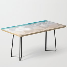 Low poly beach Coffee Table