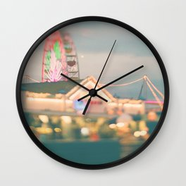 ferris wheel. Let's Be Kids Again Wall Clock