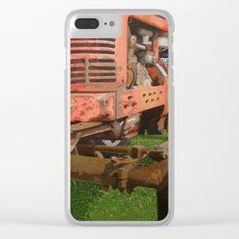 """Ole Faithful - Farmall """"H"""" Clear iPhone Case"""