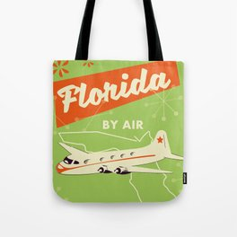 Florida By air - vintage travel poster Tote Bag