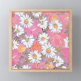 Farmhouse Wildflowers Framed Mini Art Print