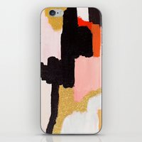 coral iPhone & iPod Skins featuring Coral by Patricia Vargas