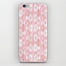 Harlequin Marble Mix Blush iPhone & iPod Skin
