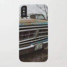 Vintage Ford iPhone X Slim Case