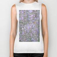 lavender Biker Tanks featuring Lavender by Stecker Photographie