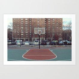 New York - Rucker Park Art Print