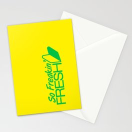 So Freakin' Fresh v2 HQvector Stationery Cards