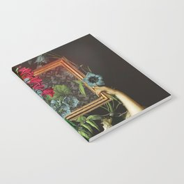 Florales Portrait Disaster Notebook