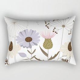 Wildflower Beach Rectangular Pillow