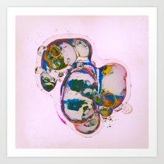 CHROMA-ZYGOTE (08.09.15) Art Print