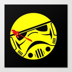 who watches the Empire Canvas Print