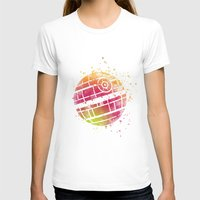 death star T-shirts featuring Star . Wars Death Star by Carma Zoe