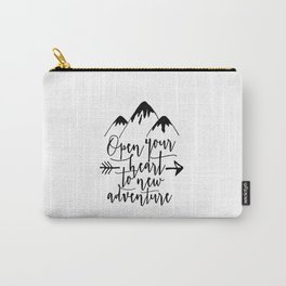 Kids Room Decor Home Decal Nursery Art Mountains Calling Kids Poster Nursery Poster Nursery Art Carry-All Pouch