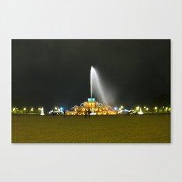 Fountain #1 Canvas Print
