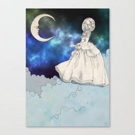 Victorian astronaut Canvas Print