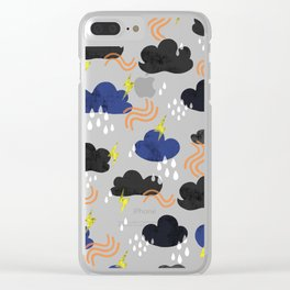 summer weather Clear iPhone Case