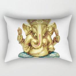 Hindu Ganesha Statue Idol Rectangular Pillow