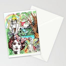 Summer Solstice Stationery Cards