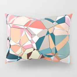 Jumble of Shapes And Colors Pillow Sham