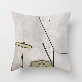 Tiomh from Nullom (drum) Throw Pillow