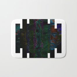 Faces of Outer Space Bath Mat
