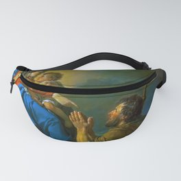 """Jacques-Louis David """"Saint Roch Asking the Virgin Mary to Heal Victims of the Plague"""" Fanny Pack"""
