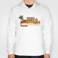 arab Hoodies featuring Arab city by Design4u Studio