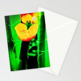 Flowers magic marsh Marigold Stationery Cards