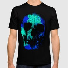 SKULLPOP XVI Black Mens Fitted Tee MEDIUM
