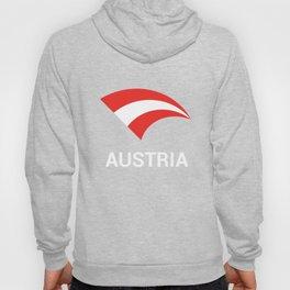 Austria Flag- Proud Austrian American Hoody