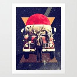 El Camion Art Print