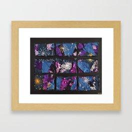 Rhythm of days Framed Art Print