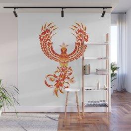Mythical Phoenix Bird Wall Mural