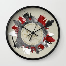 As Travars. For those who dream of stranger worlds. A Darker Shade of Magic. Wall Clock