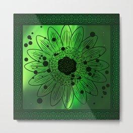 Flor de saturno !!! Metal Print