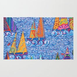 Regatta Town for the Home Rug